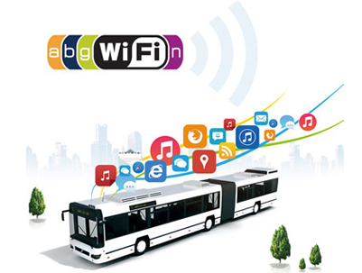 WIFI Router for Bus